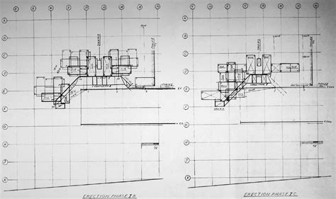 drawing plans habitat 67 planning and architectural drawings