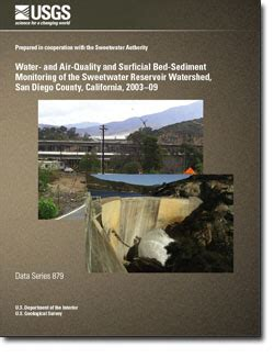 usgs data series 879 water and air quality and surficial bed sediment monitoring of the