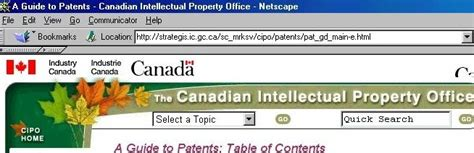 Canadian Patent Office by Outlinebcs421b