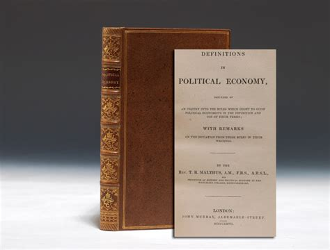 malthus founder of modern demography books robert malthus definitions in political economy