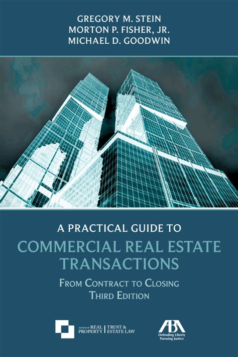 is commercial real estate for you books aba publishes third edition of ut professor s book on