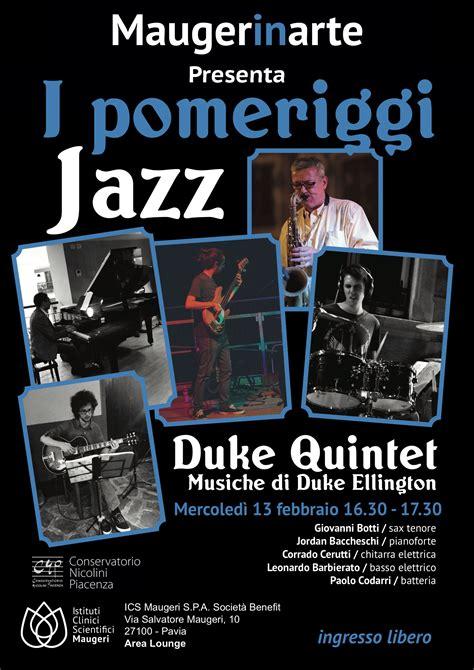 istituto maugeri pavia prenotazioni tornano i pomeriggi jazz all irccs pavia ics maugeri