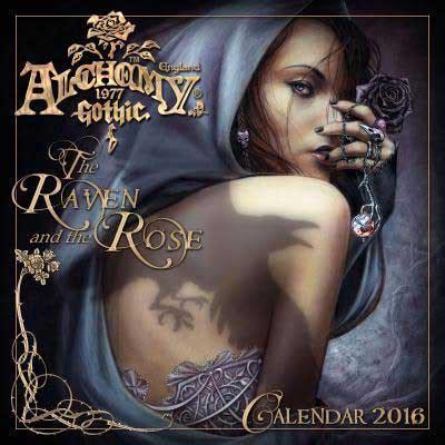 cal 2017 fantasy art of 2016 alchemy gothic calendar by llewellyn