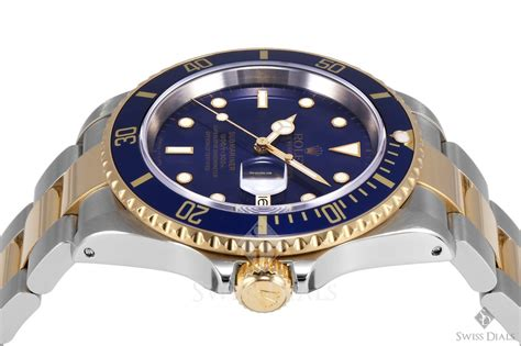 Rolex Submarine Kode Ro 1623sj 2 rolex submariner steel and gold blue index blue 60min s 230 lges for 49 384 kr af en trusted