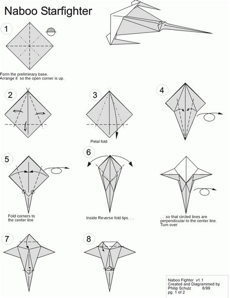 How To Fold Origami Wars - wars origami