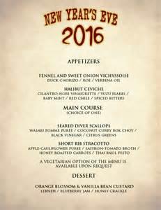 new year s eve menu upper west