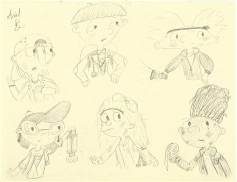 doodle name gerald hey arnold goonies by scribble on deviantart