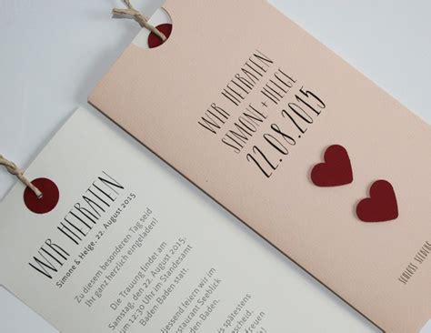 Ausgefallene Hochzeitskarten by Hochzeitskarten Werbeagentur Pfalz Stepp Grafik