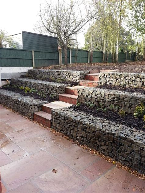 low cost gabion stepped retaining walls cheaper than block