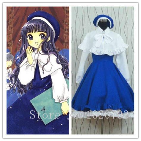 Costume Daidouji Tomoyo Cardcaptor aliexpress buy cardcaptor tomoyo daidouji dress costume from reliable