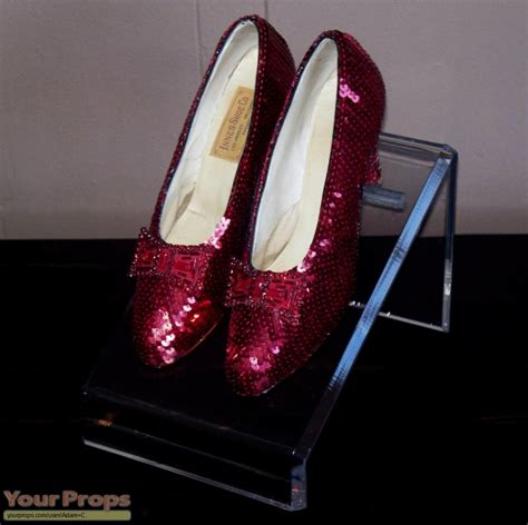 dorothy ruby slippers the wizard of oz dorothy s ruby slippers replica prop