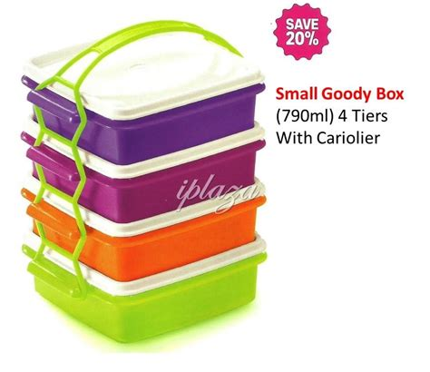 Tupperware Goodie Box tupperware goodie box multi color daftar harga terbaru