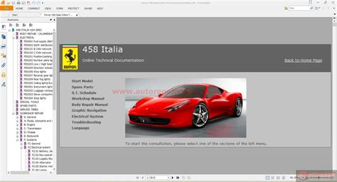 old car repair manuals 2011 ferrari 458 italia interior lighting service manual 2011 ferrari 458 italia service manual download service manual 2011 ferrari