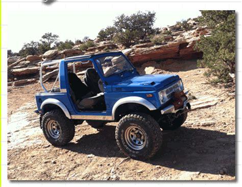 Suzuki Samurai Conversions Repower Your Suzuki Samurai With A V6 Or V8 Engine