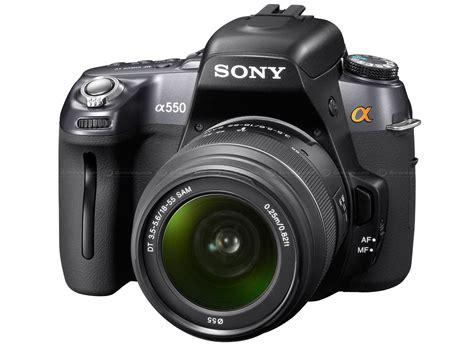 Kamera Dslr Sony A550 sony unveils dslr a550 and dslr a500 digital photography