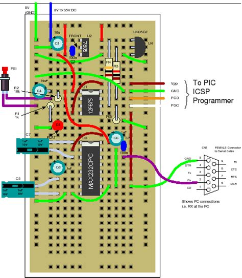 12f675 tutorial 4 an lm35 temperature recorder