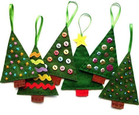 manualidades con fieltro hacemos los adornos de navidad