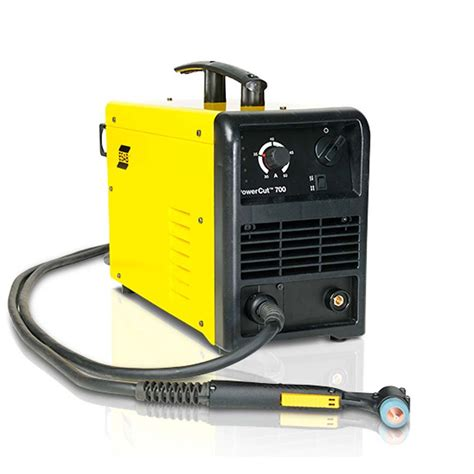 maquinas de corte plasma maquina de corte plasma powercut 700 monofasico esab
