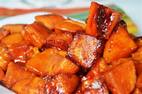 baked cadied yams a soulful twist
