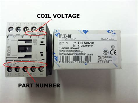where can you find the maximum horsepower for your boat xtce009b10a eaton contactor rated at 9 s with an 110