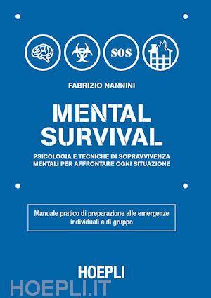 test sopravvivenza mental survival nannini fabrizio hoepli libro