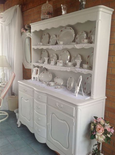 shabby chic hutch shabby chic hutch and buffet beautiful
