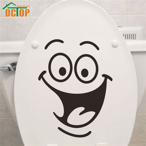 toilet wall stickers dctop emoticons stickers toilet sticker vinyl