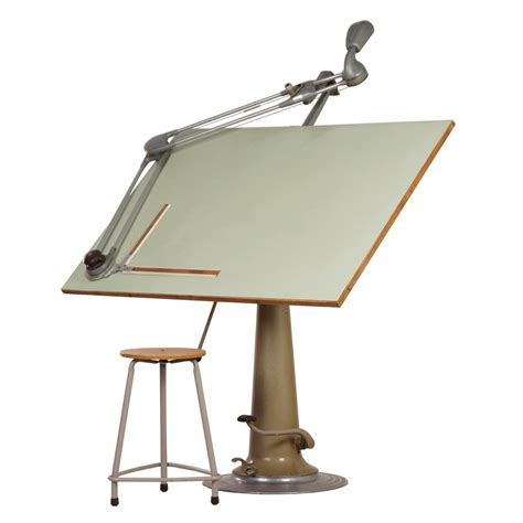 Vintage Industrial Nike Drafting Table Ca 1950 Ztijl Nike Drafting Table