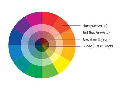 labeled color wheel color wheel labeled ai and psd made and shared by