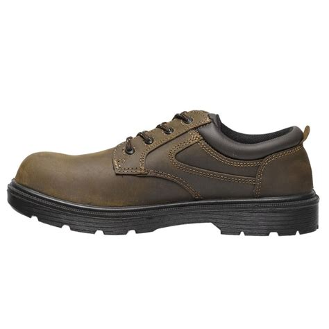 Safety Shoes Boygie Original parade safety footwear metal free brown leather mens safety shoes