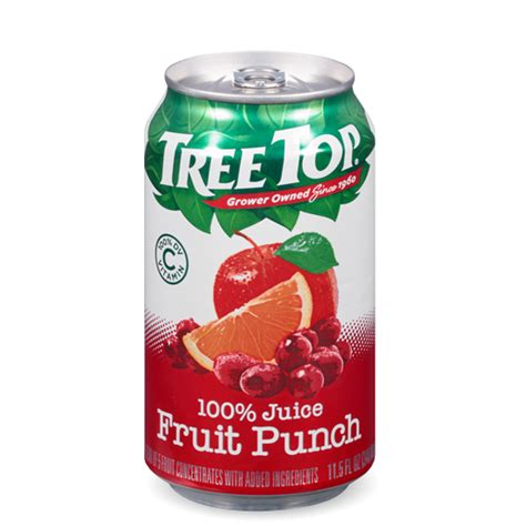 fruit punch tree cans
