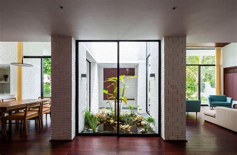 patios de casas modernas planos de casa moderna de dos pisos con techo verde
