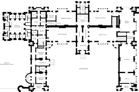 castle howard floor plan lord foxbridge in progress new floor plans