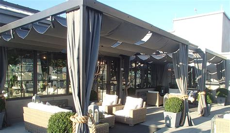 sliding pergola cover retractable pergola covers