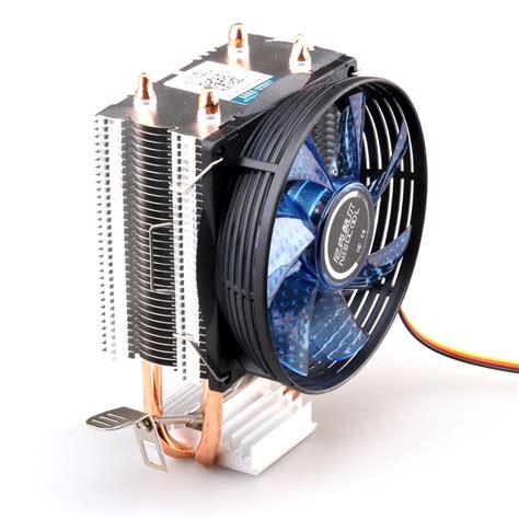 intel 775 cpu fan cpu cooler copper double heat pipe cpu radiator brass