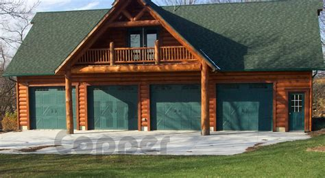 log garage with apartment plans log cabin garage apartment log garages neiltortorella com