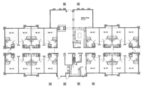 Assisted Living Facility Floor Plans by Assisted Living Facility Floor Plans Quotes