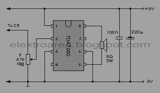 Baterai V Vgen C1 Power Mcom electronika rangkaian lifier mini menggunakan tegangan