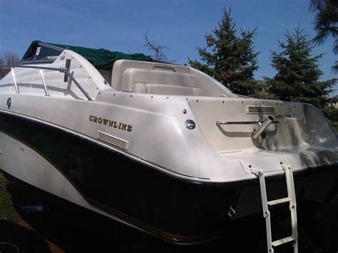 crownline boat with outboard crownline 250 cr with cuddy cabin boat for sale from usa