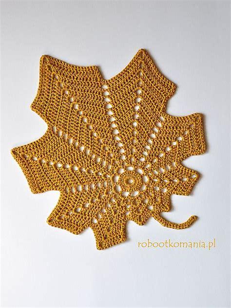 crochet pattern large leaf 20 free crochet leaf patterns for every season