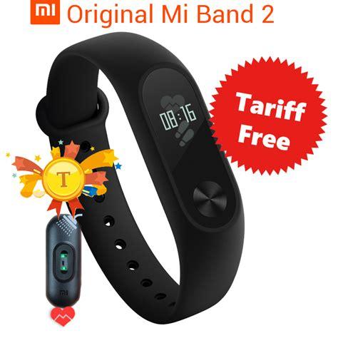 Terlaris Xiaomi Mi Band 2 Oled Original Free 2 Screenguard Lpi1175 in stock original xiaomi mi band 2 smart wristband bracelet band2 ip67 oled screen touchpad