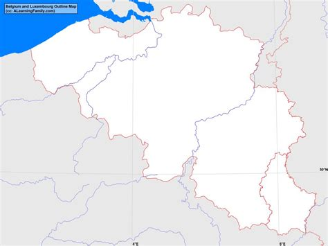 belgium map outline belgium and luxembourg outline map a learning family
