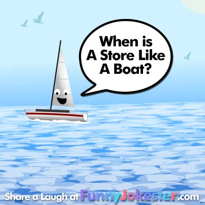 boat riddle ice breakers at funny jokester