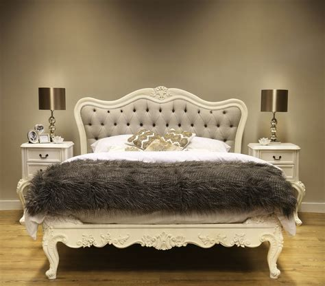 sophia button upholstered french bed french bedroom