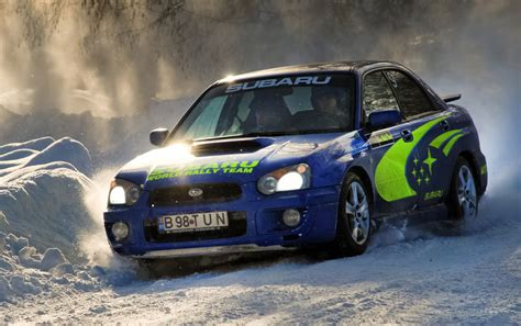 subaru rally snow image gallery impreza rally