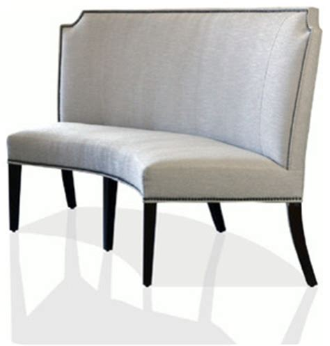 curved banquette bench curved banquette transitional dining benches atlanta