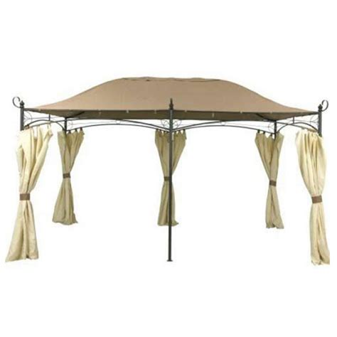 gazebo curtains replacement outdoor oasis gazebo canopy replacement 187 backyard and