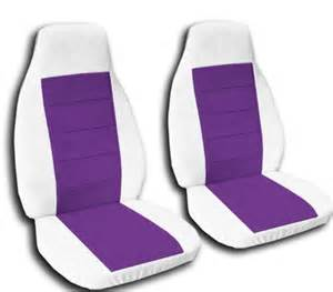Seat Covers Purple Seat Covers Accessories 2 White And Purple Car Seat