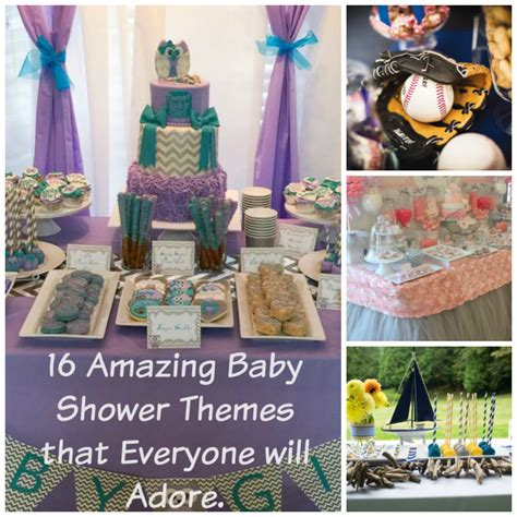 Amazing Baby Shower Themes 16 amazing baby shower themes that everyone will adore