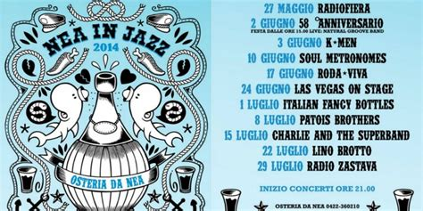 l 礙 una cosa swing nea in jazz gli appuntamenti dell estate